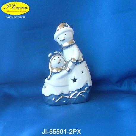 FAMILY SNOWMAN - CM.9X5X15