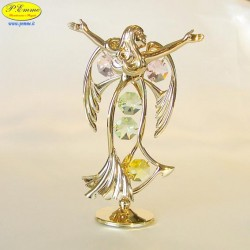 ANGEL BIG GOLD - Cm. 12.5 x 8- elements SWAROVSKI