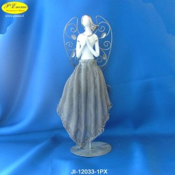 ANGEL DRESS WITH METAL - CM.13X10,5 X 32