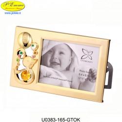 FRAME GOLDEN CHILD - 14x8 - Swarovski Elements