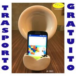 GRAMMOFONO AMPLIFICATORE SMARTPHONE - CM.15X10X H.25