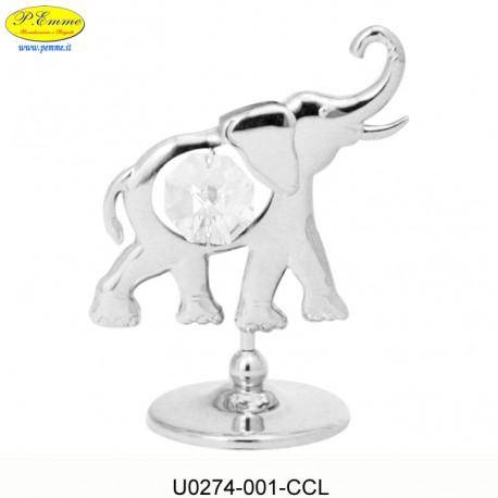 ELEPHANT SILVER - cm. 7x6