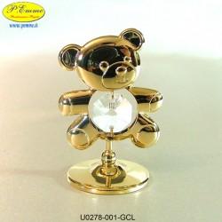 ORSACCHIOTTO GOLD - cm. 6x4 - Met.Swar.