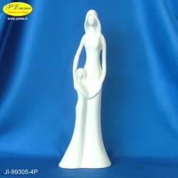 STATUA ANGELI WHITE - CM.11,5X29,5